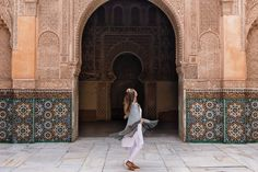Local women dress conservatively, but you'll see a wide range of styles. Here is Morocco outfit inspiration based on my own conservative travel styles!