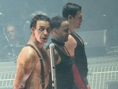 Till Lindemann, Paul Landers and Richard Kruspe