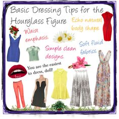 Basic Dressing Tips for the Hourglass Figure Hourglass Figure Fashion, Hourglass Body Shape, Hourglass Dress, Look Fashion, Trendy Fashion, Fashion Beauty, Fashion Advice, Fashion Ideas, Playing Dress Up
