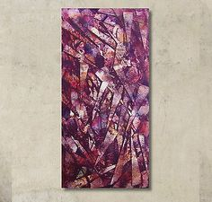 Kunstgalerie-Winkler-Acrylbilder-Abstrakt-Dekoration-Gemaelde-Original-Unikat-Neu