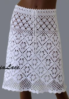 Fabulous Crochet a Little Black Crochet Dress Ideas. Georgeous Crochet a Little Black Crochet Dress Ideas. Crochet Skirt Pattern, Crochet Skirts, Crochet Clothes, Diy Clothes, Pants Pattern, Black Crochet Dress, Crochet Blouse, Crochet Lace, Easy Knitting Patterns