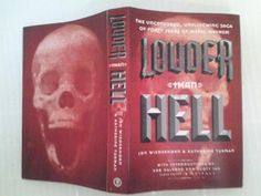 """Mock-up cover of """"Louder Than Hell,"""" the unflinching oral history of metal book by Jon Wiederhorn and Katherine Turman coming late 2012 from HarperCollins."""