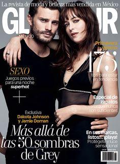 Jamie Dornan y Dakota Johnson protagonizan la edición de marzo 2015. @glamourmex