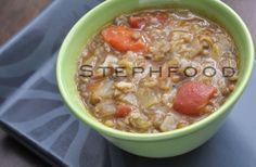 A couple of years ago, I only had two soup recipes - and I only used them once or twice a season. This year, I think I've tried twenty new soup recip. Vampires, Soups And Stews, Cheeseburger Chowder, Soup Recipes, Grains, Garlic, Lunch, Food, Eat Lunch
