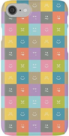 Emoji Emoticon Pattern Illustration by Gordon White | Emoji iPhone Case and Skin Available @redbubble --------------------------- #redbubble #emoji #emoticon #smiley #faces #cute #addorable #pattern #iphone #case #skin #phonecase #phoneskin