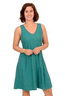 Cut Loose S/L Patch Dress, Mermaid