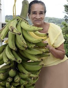 VÍDEO   Nena! Esta mata de plátanos parió más que un güimo:...