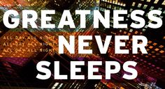 """Today, our Director of Sales, Joe Ryder, seamlessly breaks down why the infamous quote """"Greatness never sleeps"""" is so relevant to Village Print & Media and our clients."""