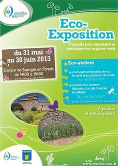 Eco-exposition. Du 31 mai au 30 juin 2013 à BAZOGES EN PAREDS.