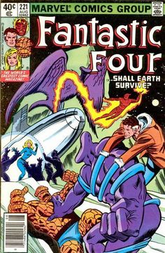 Fantastic Four Vol.The Fantastic Four is a fictional superhero team appearing in comic books published by Marvel Comics. The group debuted in (November which helped to usher in a new level of realism in the medium. Fantastic Four Comics, Mister Fantastic, Comic Books For Sale, Marvel Comic Books, Marvel Characters, Jack Kirby, Stan Lee, Dragon Ball, Comics