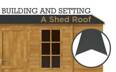 One of the most vital parts of a garden shed is the roof. Garden Buildings Direct teaches us how to choose the best shed type for your building. Shed Storage Ideas Uk, Shed Ideas Uk, Outdoor Storage Sheds, Garden Shed Roof Ideas, Garden Office Shed, Shed Roof Design, Shed Design Plans, Building A Shed Roof, Building A Storage Shed