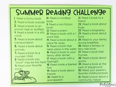 Use this FREE summer reading challenge to keep your students reading throughout the summer! It's the perfect thing to add to yoru summer bucket challenge for your kindergarten and first grade readers! Reading Bingo, 5th Grade Reading, Middle School Reading, Student Reading, Reading Activities, Free Reading, Summer Reading Program, Summer Reading Lists, Summer School Programs