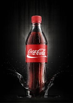 Coca Cola by Jakub Goda, via Behance