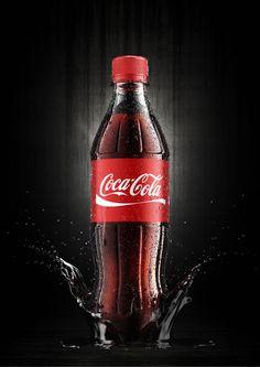 Coca Cola by Jakub Goda, via Behance