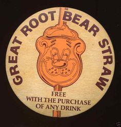A  W Root Bear Straws