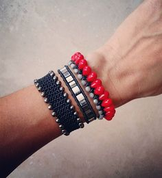 Happy weekend! #ohsocutethings #handmade #jewelry #greekdesigners #greekdesigner #fashionjewelry #fashionista #instapic #instajewelry #armcandy #armparty #accessories #bohochic #hippiechic #fall 15 #style #womenstyle #black #instajewels #greekstyle #greekfashion #semiprecious #stones #gems