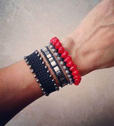Happy weekend! #ohsocutethings #handmade #jewelry #greekdesigners #greekdesigner #fashionjewelry #fashionista #instapic #instajewelry #armcandy #armparty #accessories #bohochic #hippiechic #fall 15 #style #womenstyle #black #instajewels #greekstyle #greekfashion #semiprecious #stones #gems
