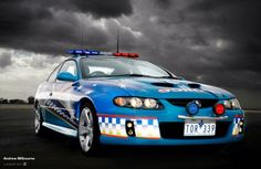Interior of a Victoria Police Highway Patrol car | Police ...