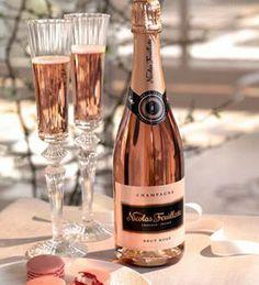 Nicolas Feuillatte Brut Rose Champagne, non-vintage (Champange, France) Macarons, Pink Macaroons, Color Splash, Nicolas Feuillatte, Rose Champagne, Champagne Flutes, Champagne Color, Champaign Pink, Champagne France