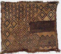 kuba cloth from the congo