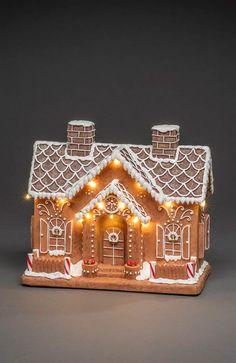 Juldekoration pepparkakshus från Konstsmide online | Cellbes.se Gingerbread, 1, Shape, Ginger Beard