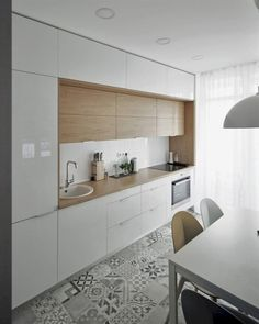 30 Really Awesome Kitchen Design Ideas Nice Contemporary Kitchen inspiration. The post 30 Really Awesome Kitchen Design Ideas appeared first on Design Diy. White Kitchen Decor, Home Decor Kitchen, Kitchen Interior, New Kitchen, Kitchen Ideas, Awesome Kitchen, Decorating Kitchen, Kitchen Reno, Kitchen Backsplash
