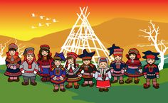 Folk Costume, Costumes, Traditional Dresses, Geography, Crafts For Kids, Culture, Art, Historia, Crafts Toddlers