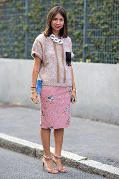 Milan fashion week 2014