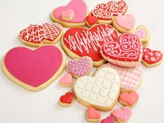 More heart shaped cookies