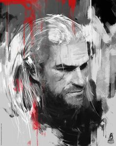 Aewsome Witcher fan art