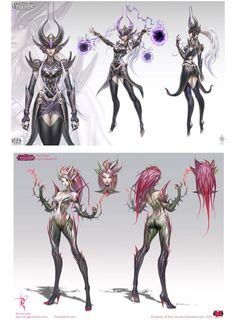 Personagens do game League of Legends, da Riot | THECAB - The Concept Art Blog