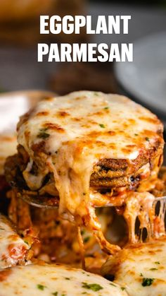 This is the BEST Eggplant Parmesan Recipe that's easy to make ahead of time and bake another day! The crispy golden breading is just like from a restaurant. #italianrecipes #meatlessdinners #vegetarianrecipes Best Eggplant Parmesan Recipe, Easy Eggplant Recipes, Italian Eggplant Recipes, Vegetarian Italian Recipes, Italian Dinner Recipes, Best Dinner Recipes, Party Recipes, La Trattoria, Irish Desserts