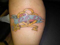 tattoo-quotes-dad Best Tattoo Fonts, Tattoo Font For Men, Tattoo Quotes For Men, Dad Tattoos, Great Tattoos, Tattoos For Guys, Tattoos For Women, Tatoos, George Strait