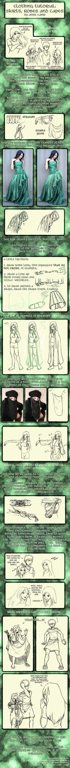Clothing Tut 3-Hanging Wrinkle