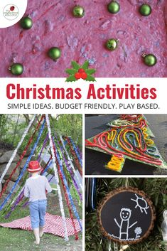 Simple Christmas Activities and Gifts for Children and Educators
