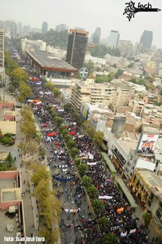 Marcha Estudiantil Abril 2013 Chile Santiago, Chile