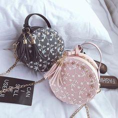 Mini lace flower tassel small round bag – Purses And Handbags Totes Popular Handbags, Cute Handbags, Cheap Handbags, Purses And Handbags, Leather Handbags, Canvas Handbags, Wholesale Handbags, Leather Purses, Trendy Purses
