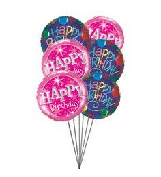 BirthdayGreetingballoons 6MylarBalloons BirthdayBallonstousa Order Balloons Send Online