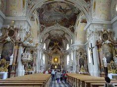 DIVAGAR SOBRE TUDO UM POUCO - Poemas, Flores, Pinturas, Férias: Basilica Wilten, Innsbruck – ÁUSTRIA