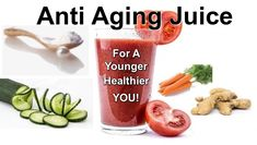 This anti aging juice is chock full of essential nutrients that your body and skin needs. Plus, it has anti-aging properties that will keep you feeling young and full of energy. It's full of antioxidants, loaded with nutrients and omega's to fight aging from the inside out.  This Anti Aging Juice will result in a younger, healthier you.