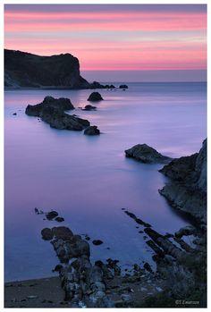 Man O' War Bay, Dorset coast,  England Copyright: Stephen Emerson