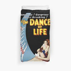 'Dance and live life, a story of love gone wrong and then returning to bliss' Duvet Cover by Gone Wrong, Duvet Cover Design, College Dorm Bedding, Duvet Insert, Live Life, Love Story, Bliss, Duvet Covers, Dance