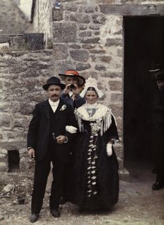 Brittany France, 1910's-autochrome