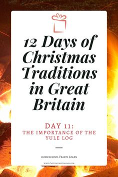 Like many holidays originating in or before the Middle Ages, the custom of burning a Yule Log has a unique history throughout most of Europe and Scandinavia. Find out what it is all about with this FREE lesson. Christmas Party Food, 12 Days Of Christmas, History For Kids, Yule Log, Teaching History, Homeschool Curriculum, Christmas Traditions, Great Britain, Encouragement
