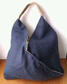 Tasche aus Stoffresten / Bag made from scraps of fabric