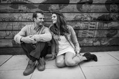 San Diego engagement photos | Little Italy engagement photography