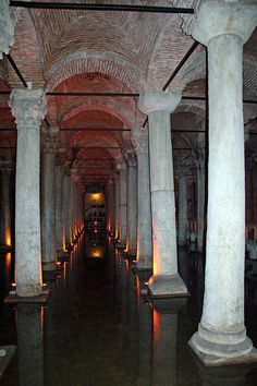 Istanbul - Basilica Cistern   - Explore the World with Travel Nerd Nici, one Country at a Time. http://TravelNerdNici.com