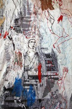 Alice Kettle's 'Loss, Homage to Guernica http://alicekettle.co.uk/wp-content/uploads/2013/06/1-IMG_3317.jpg