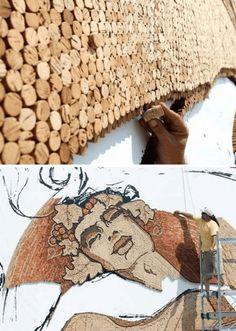 Stop wine ing 25 popping examples of cork art weburbanist art basteln mit korken coole dekoartikel und mbel wine bottle corkscork artcork ideascork craftsdo it yourselfcork solutioingenieria Gallery