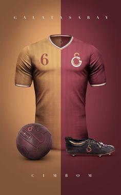 Galatasaray estilo vintage